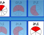 Matching equivalent fractions tanul�s j�t�kok